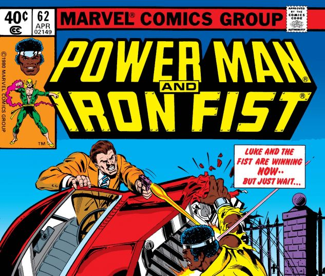 cover to Power Man and Iron Fist #62