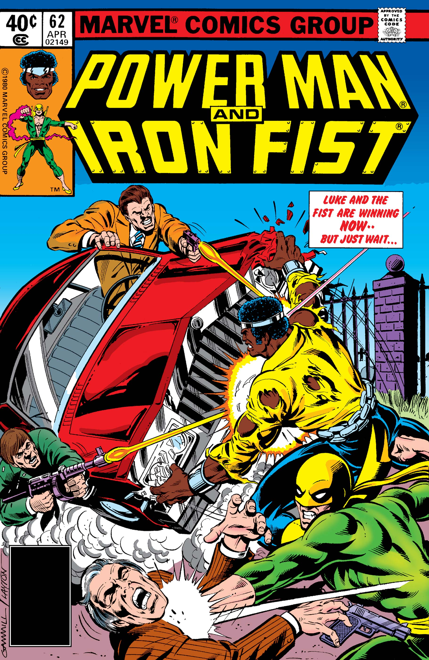Power Man and Iron Fist (1978) #62