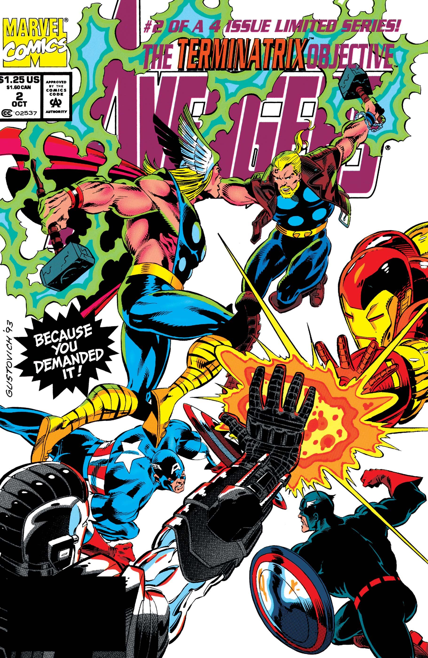 Avengers: The Terminatrix Objective (1993) #2