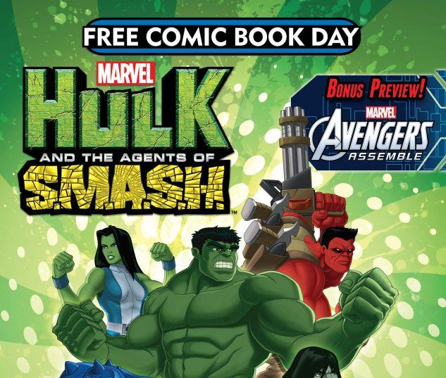 Free Comic Book Day 2013 (Avengers/Hulk) (2013) #1