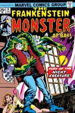 Frankenstein (1973) #14 cover