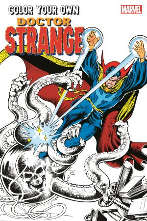 Color Your Own Doctor Strange (Trade Paperback)