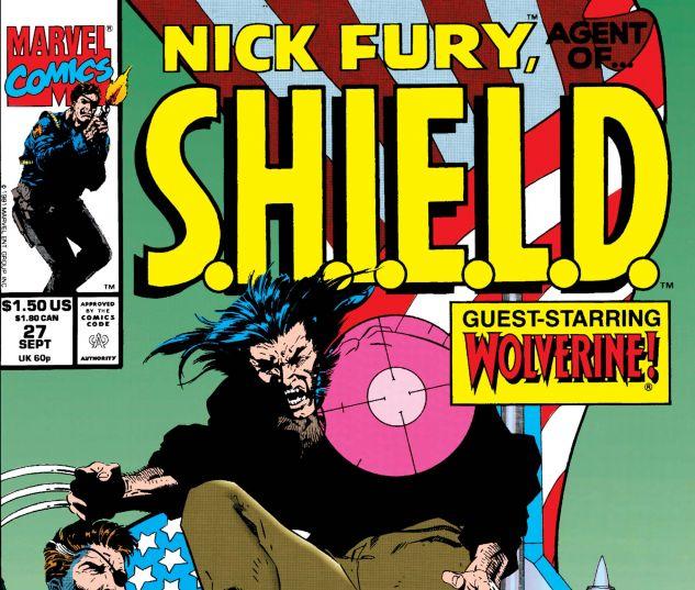 Nick Fury, Agent of Shield (1989) #27
