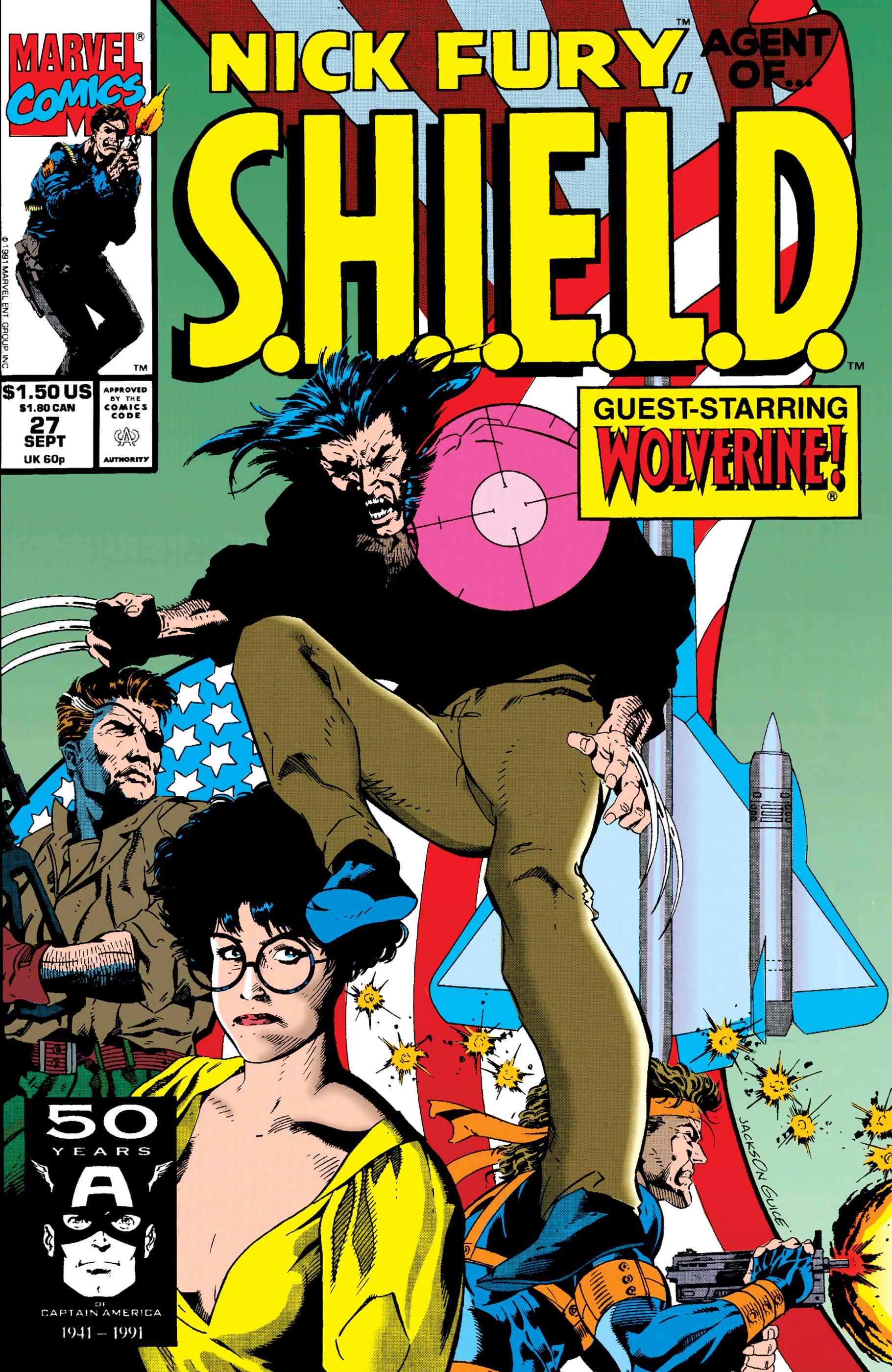 Nick Fury, Agent of S.H.I.E.L.D. (1989) #27