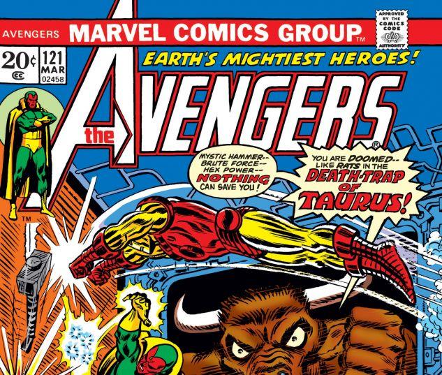 AVENGERS (1963) #121