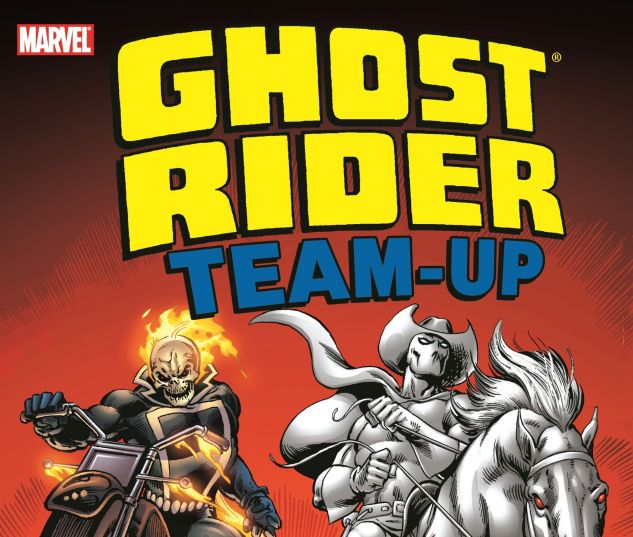 GHOST RIDER TEAM-UP 0 cover