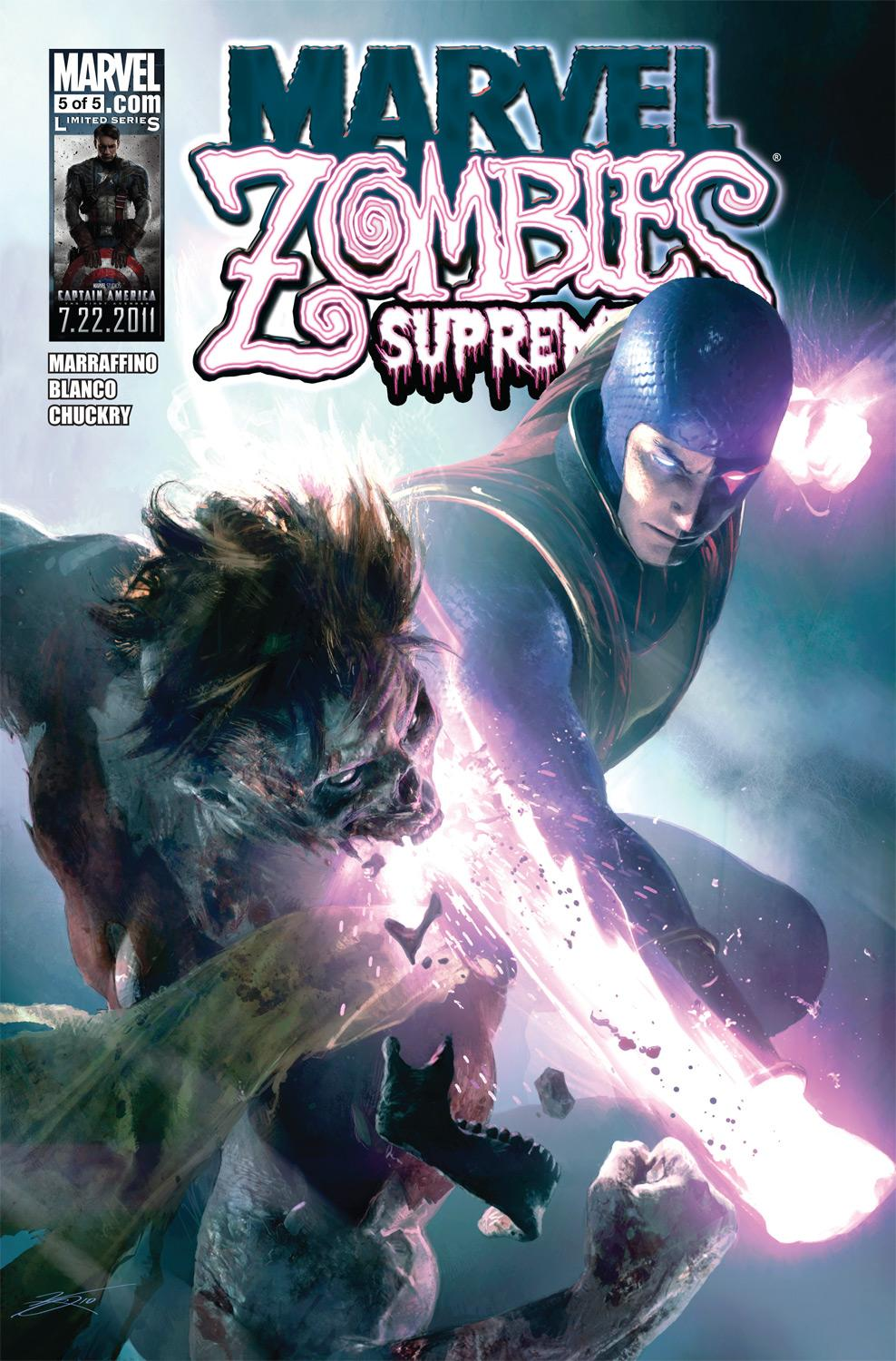 Marvel Zombies Supreme (2010) #5