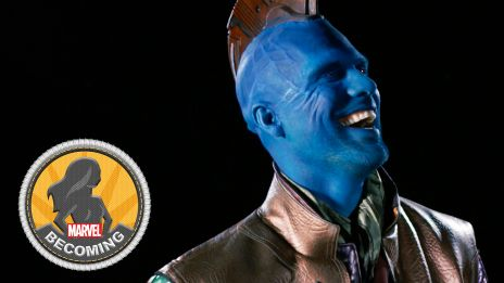 Cosplayer Sidney Cumbie becomes Yondu