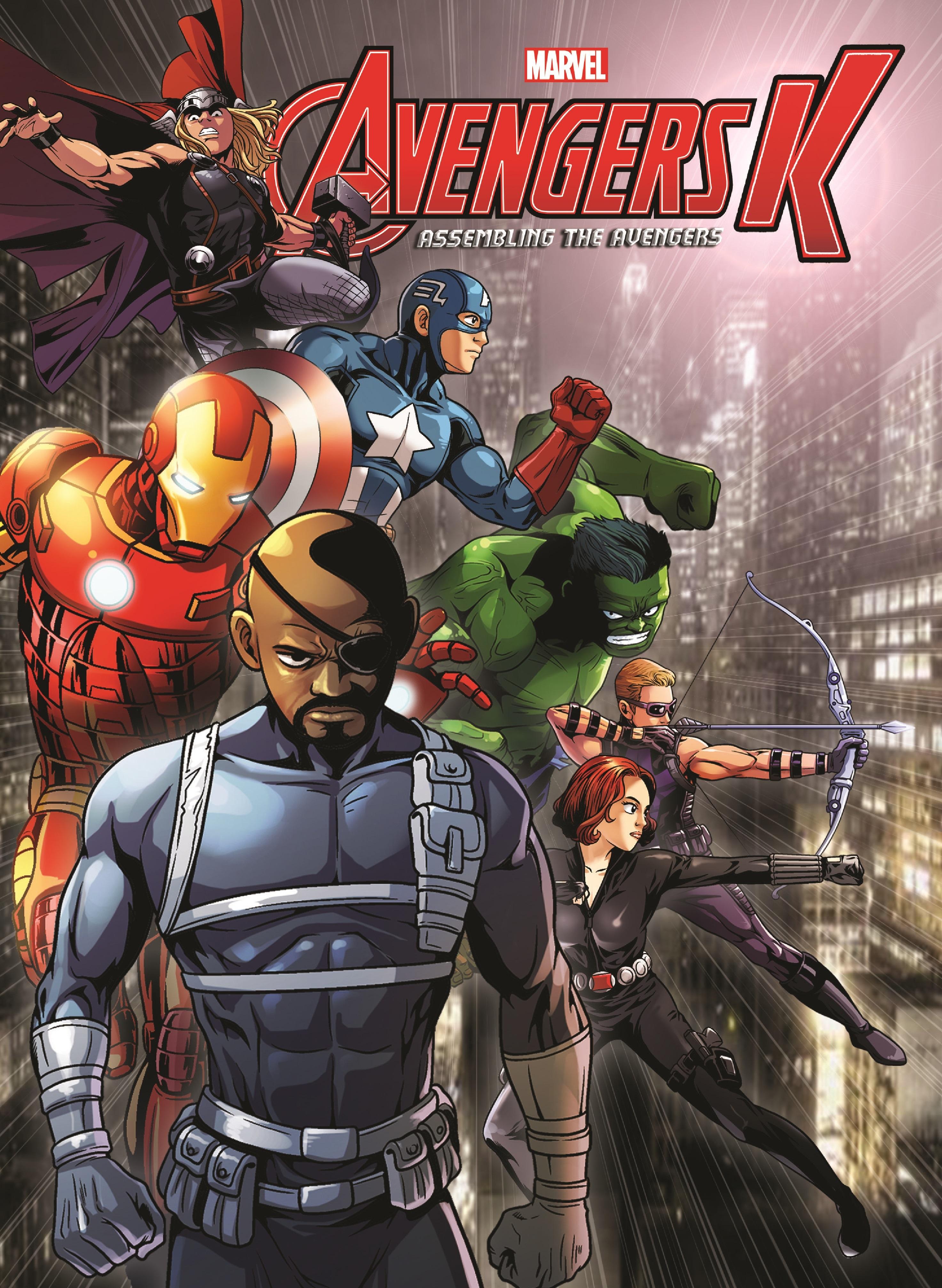 Avengers K Book 5: Assembling the Avengers (Trade Paperback)