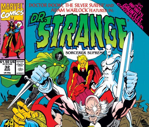 Cover for DOCTOR STRANGE, SORCERER SUPREME 32