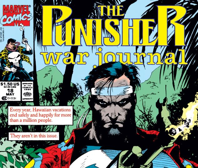 Cover for PUNISHER WAR JOURNAL 18