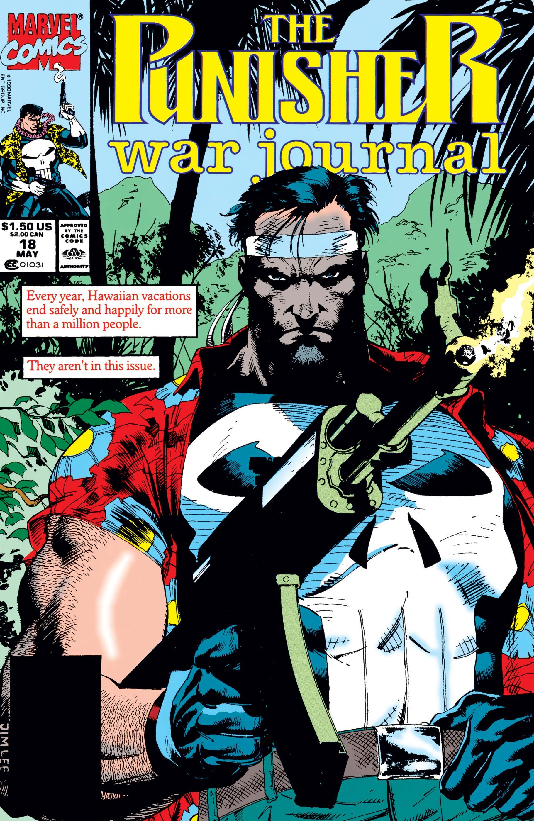 Punisher War Journal (1988) #18