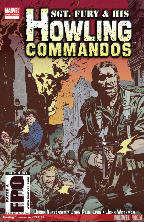 Howling Commandos (2009) #1