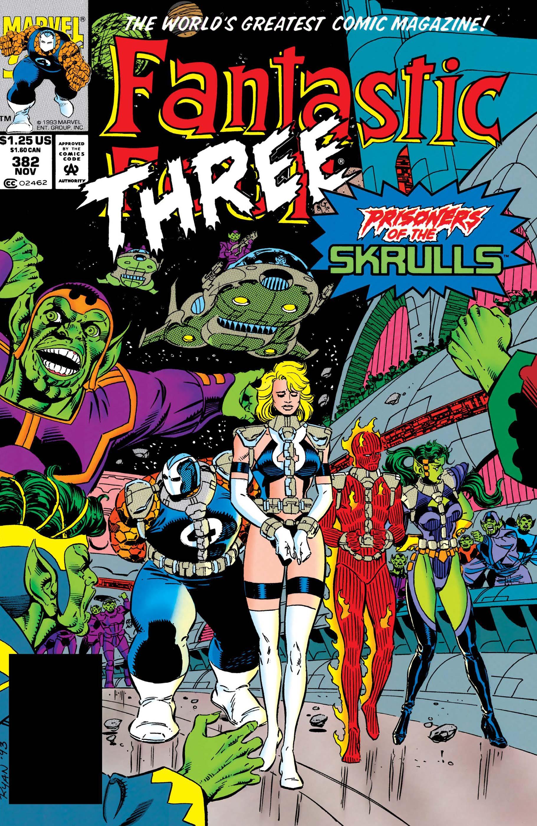 Fantastic Four (1961) #382