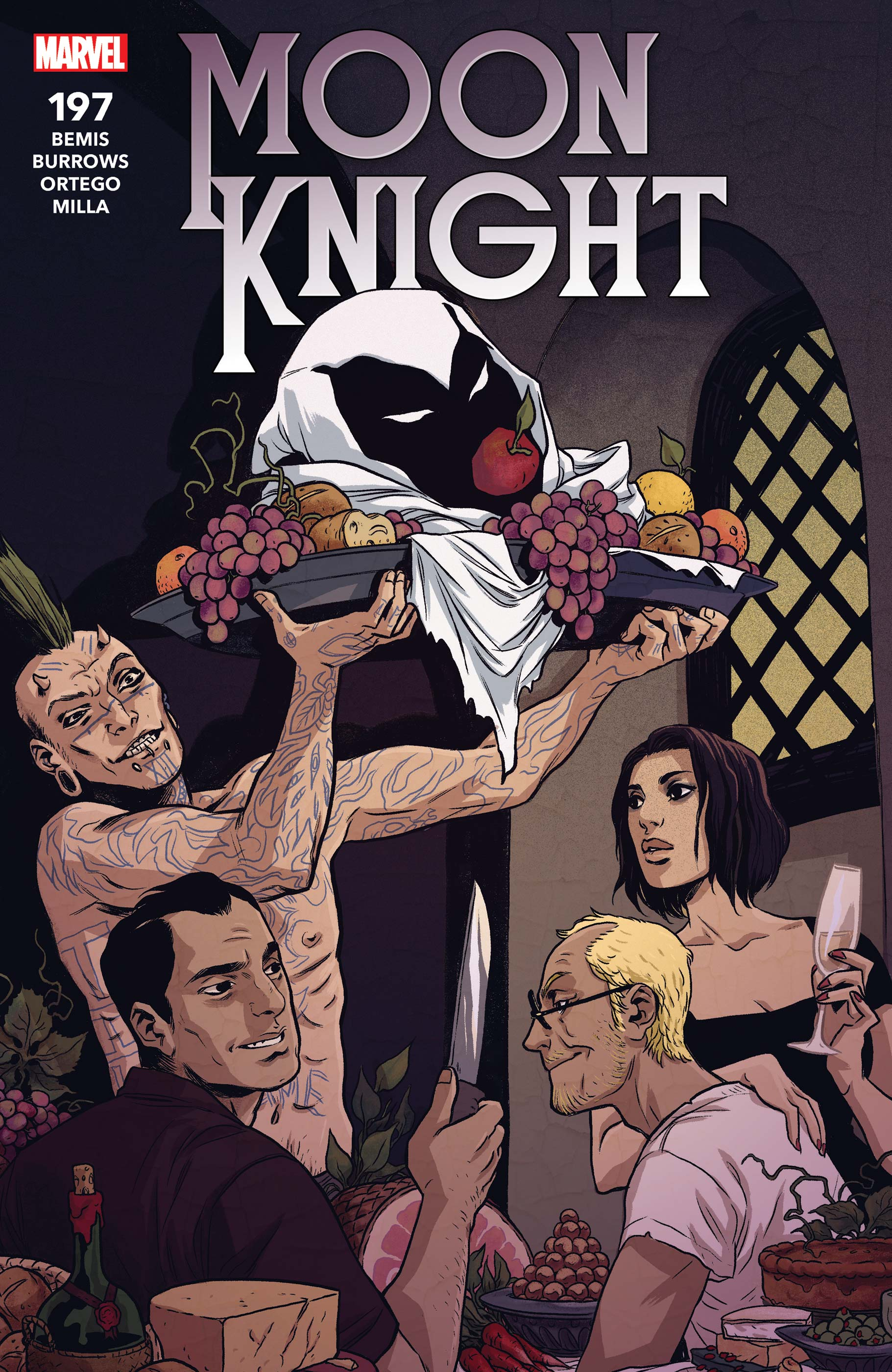 Image result for moon knight issue 197