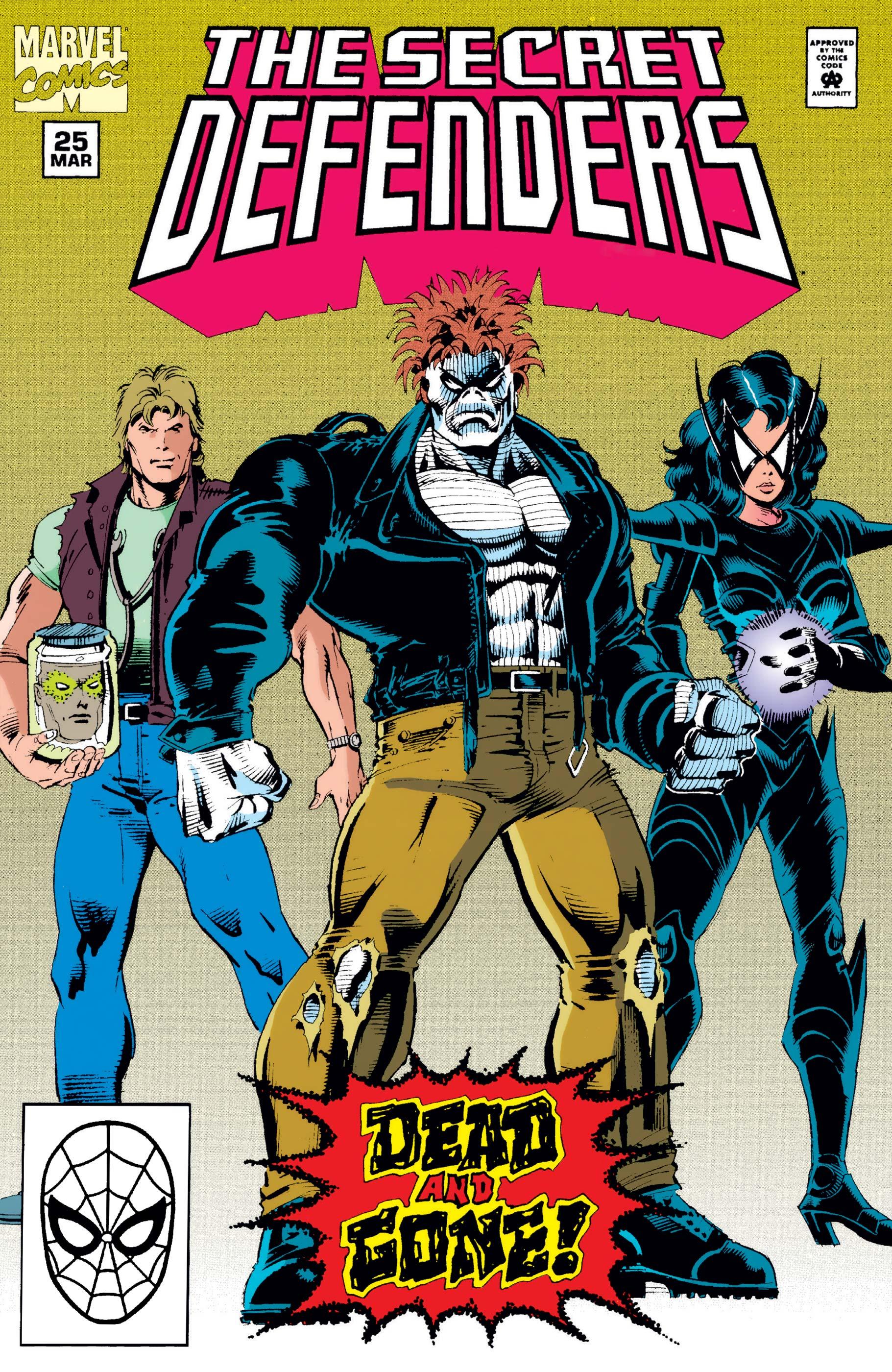 Secret Defenders (1993) #25