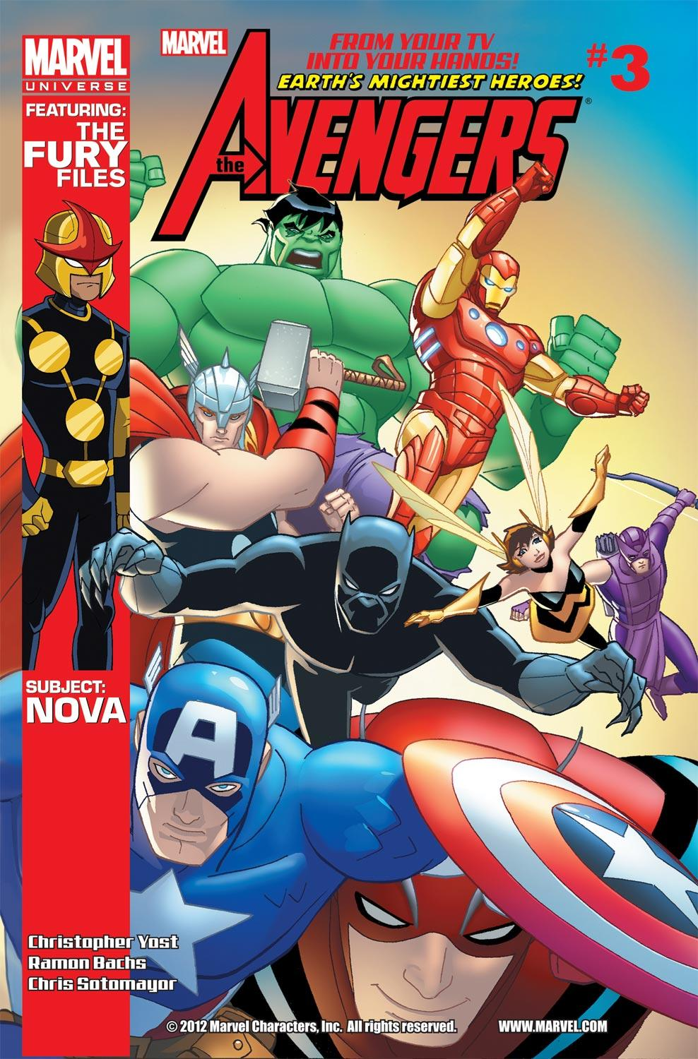 Marvel Universe Avengers: Earth's Mightiest Heroes (2012) #3