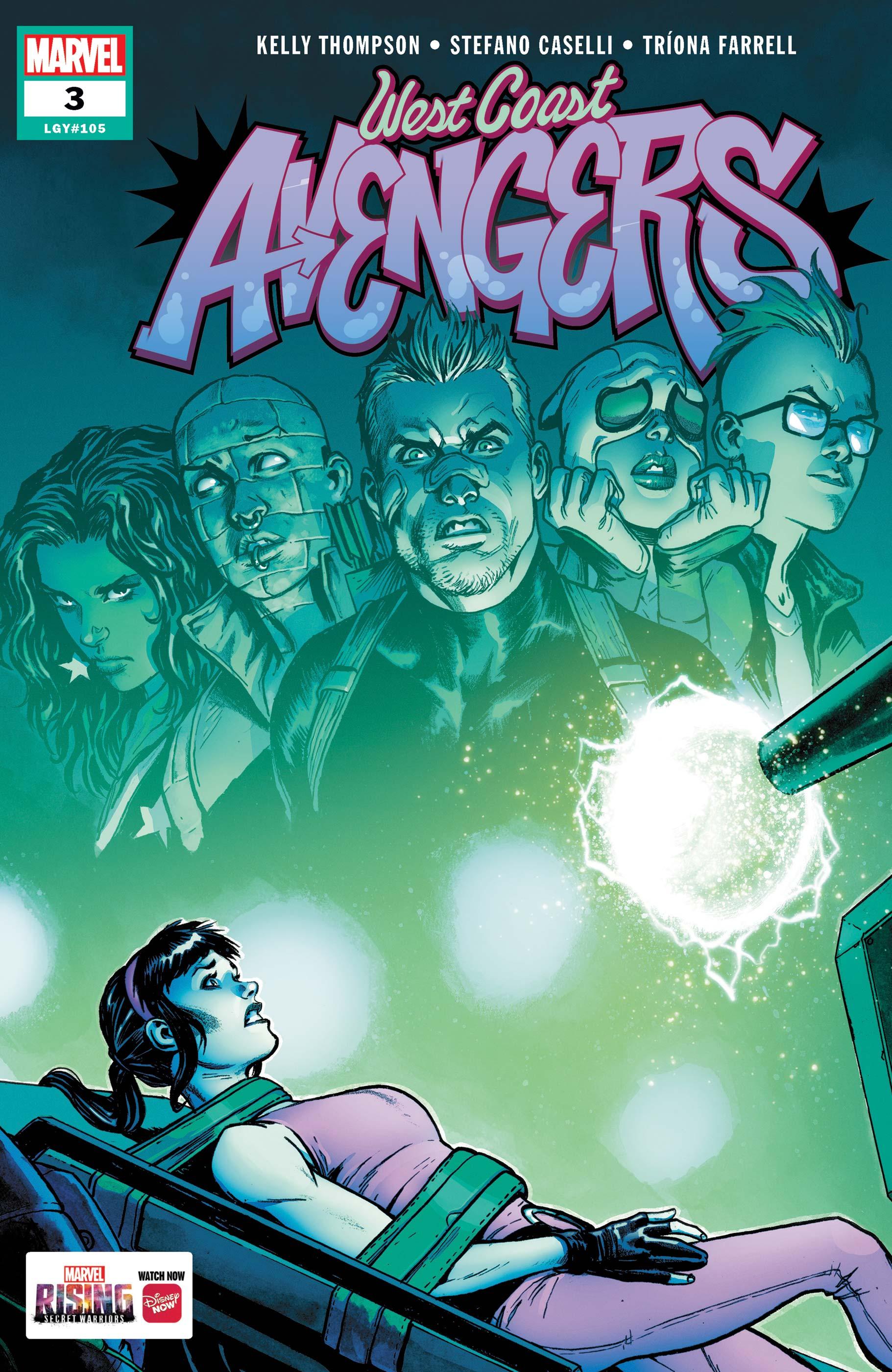 West Coast Avengers (2018) #3
