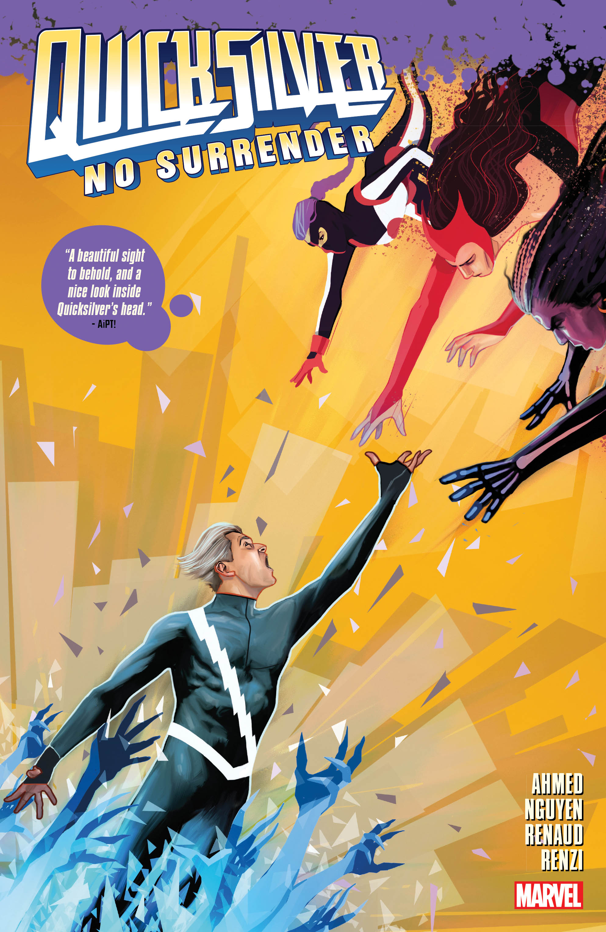 Quicksilver: No Surrender (Trade Paperback)