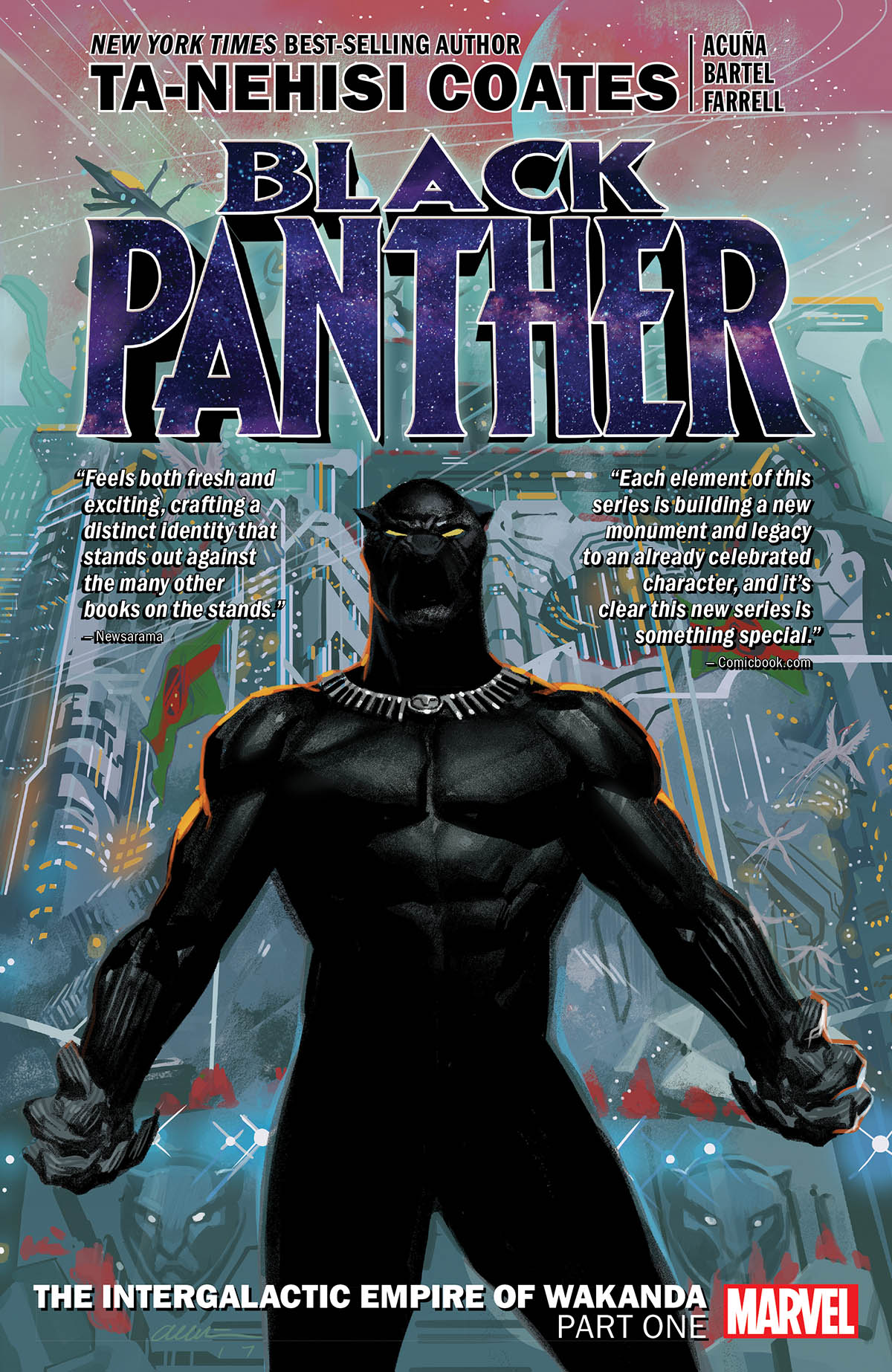 Black Panther Book 6: The Intergalactic Empire of Wakanda Part One (Trade Paperback)