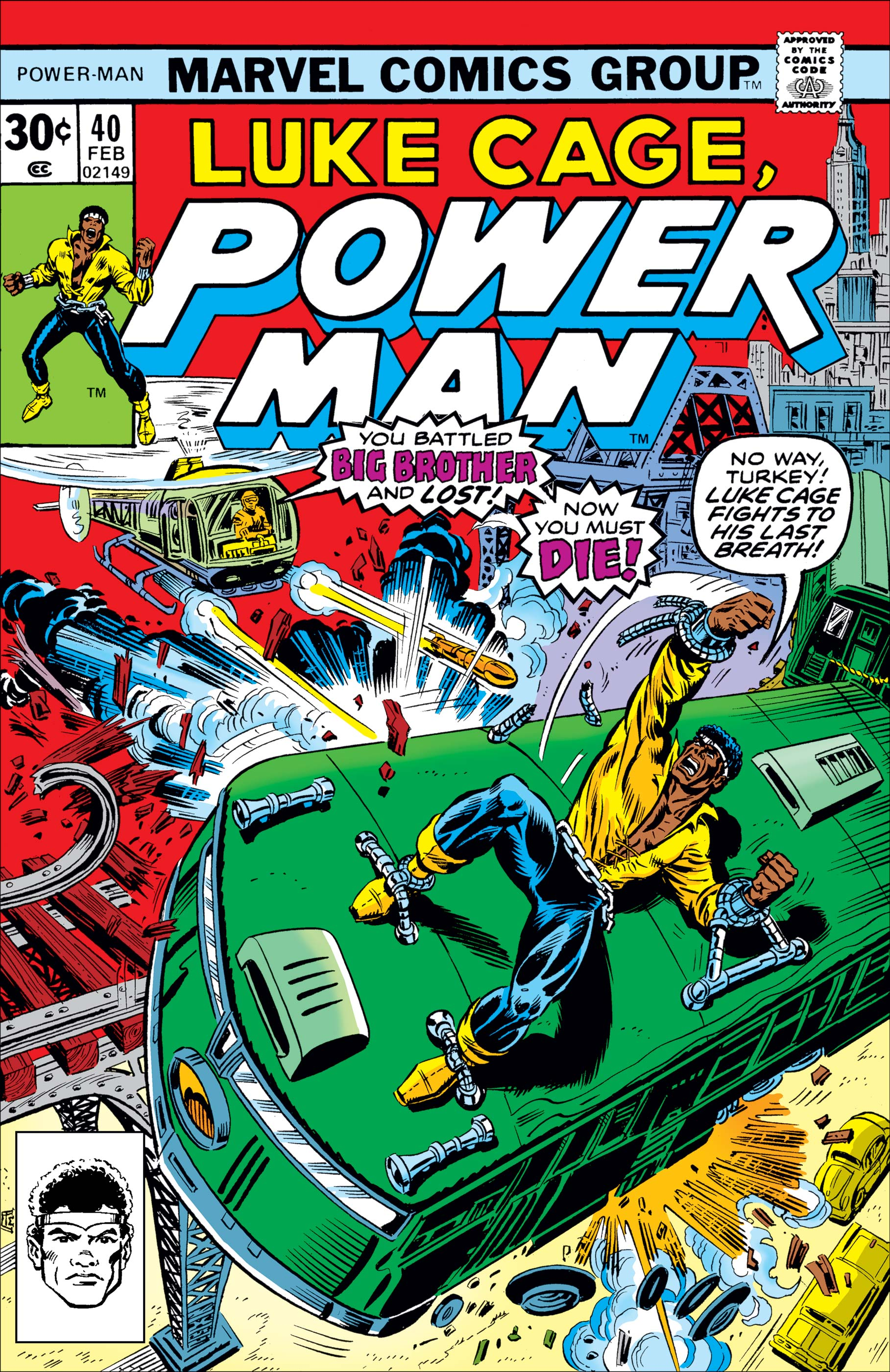 Power Man (1974) #40