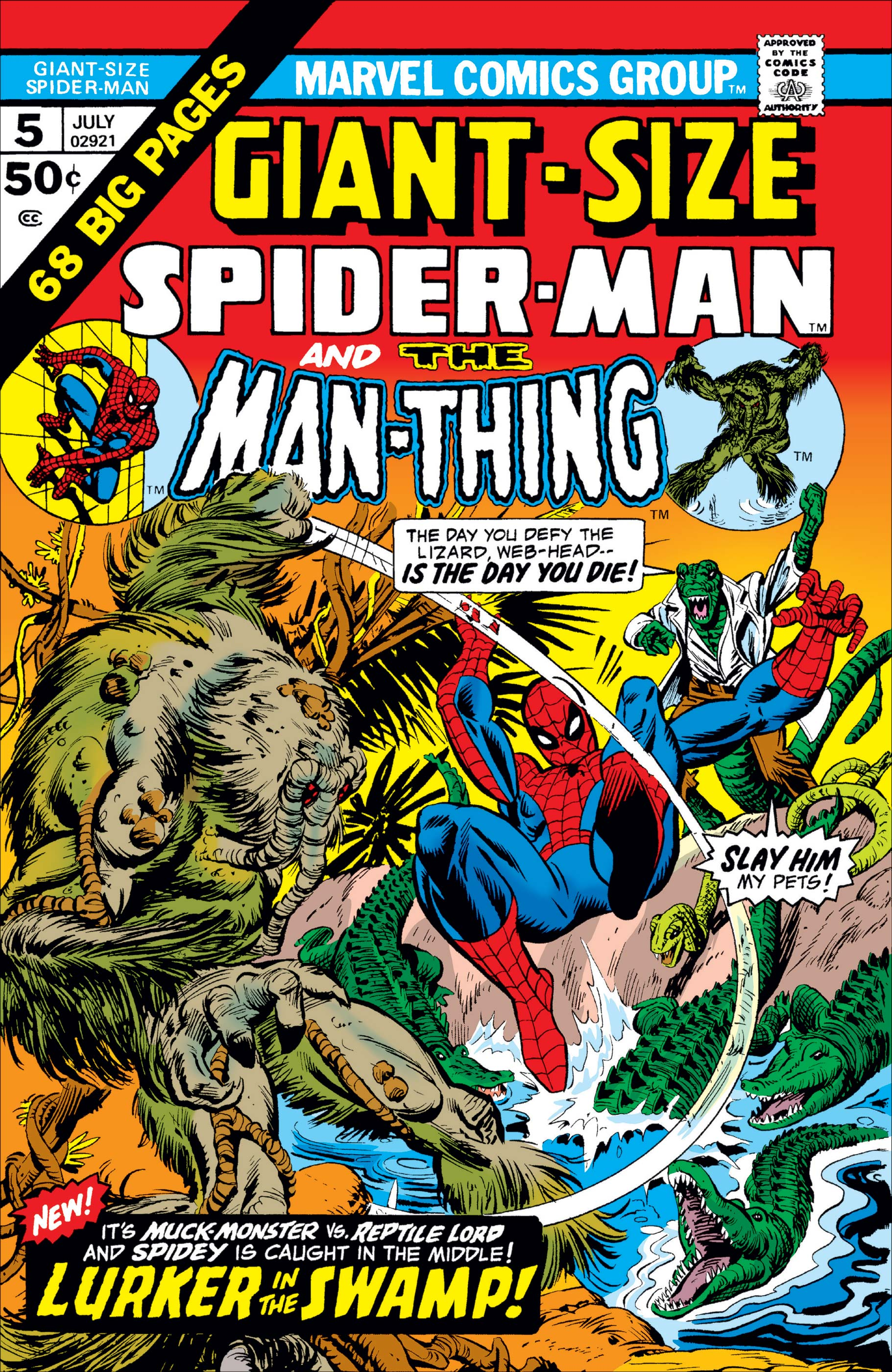 Giant-Size Spider-Man (1974) #5