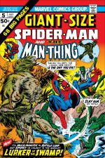 Giant-Size Spider-Man (1974) #5 cover