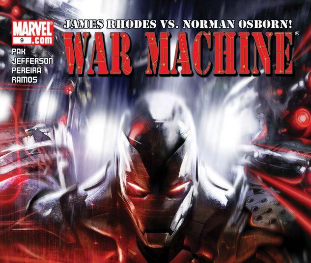 War Machine (2008) #9
