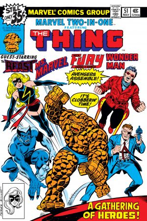 Marvel Two-in-One (1974) #51