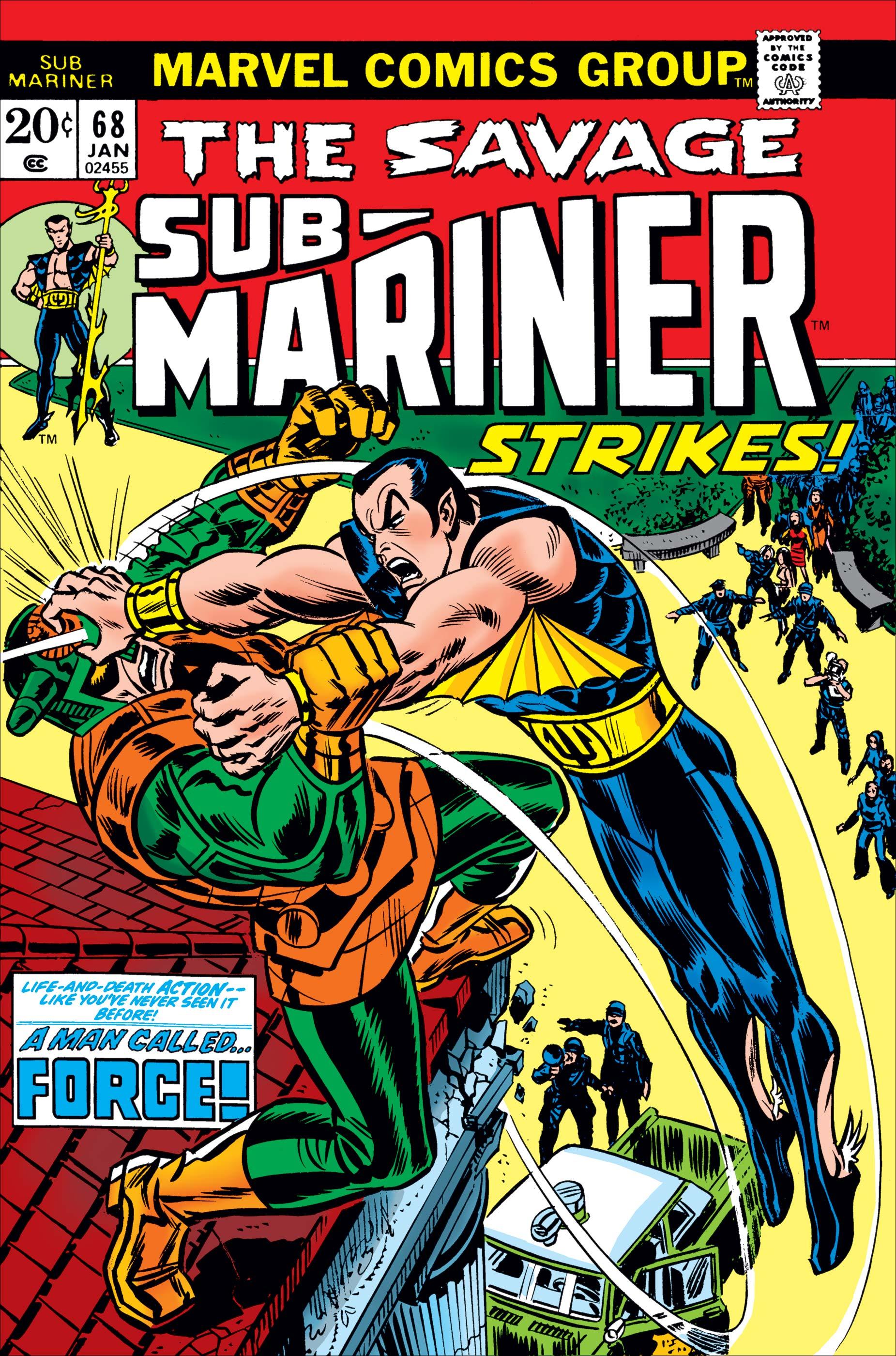 Sub-Mariner (1968) #68