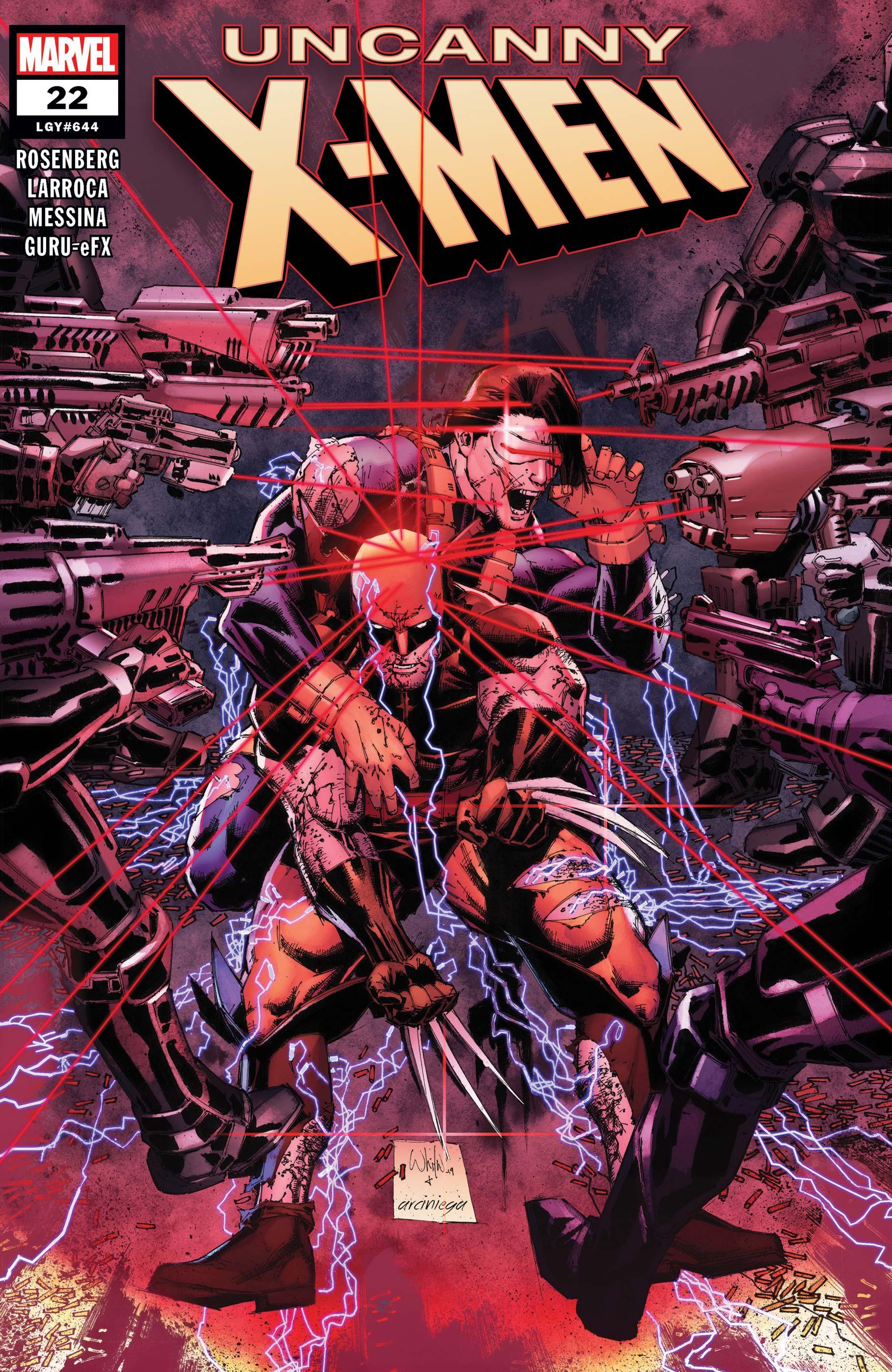 Uncanny X-Men (2018) #22