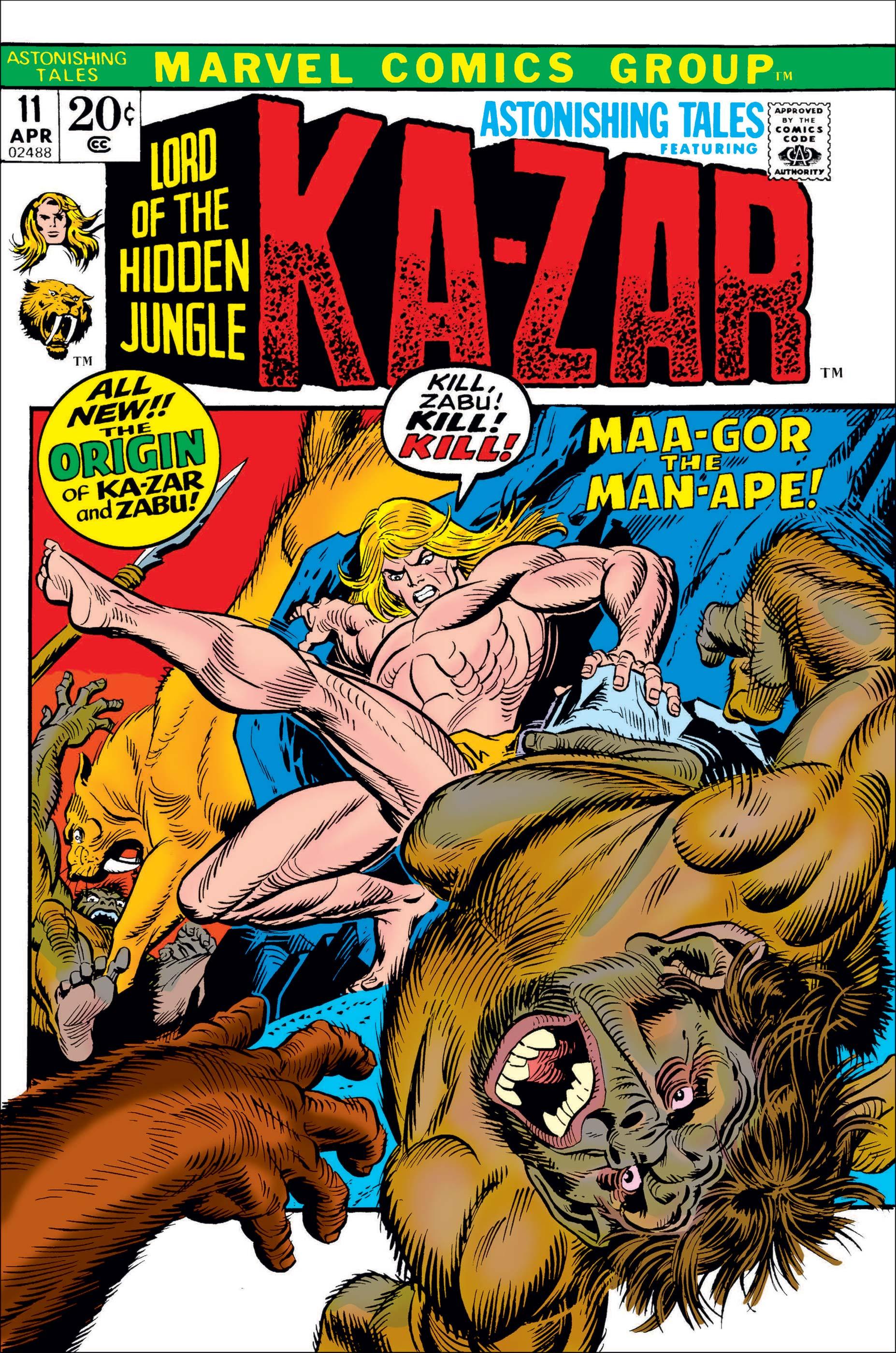 Astonishing Tales (1970) #11
