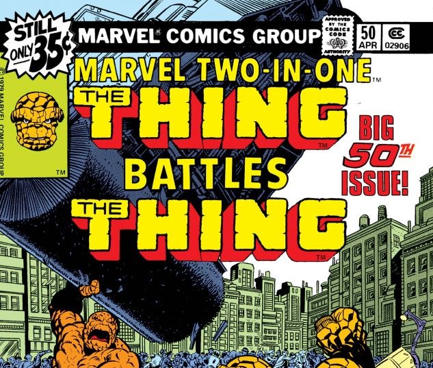 MARVEL TWO-IN-ONE (1974) #50