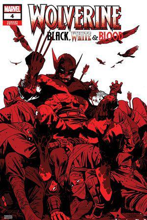 Wolverine: Black, White & Blood (2020) #4 (Variant)