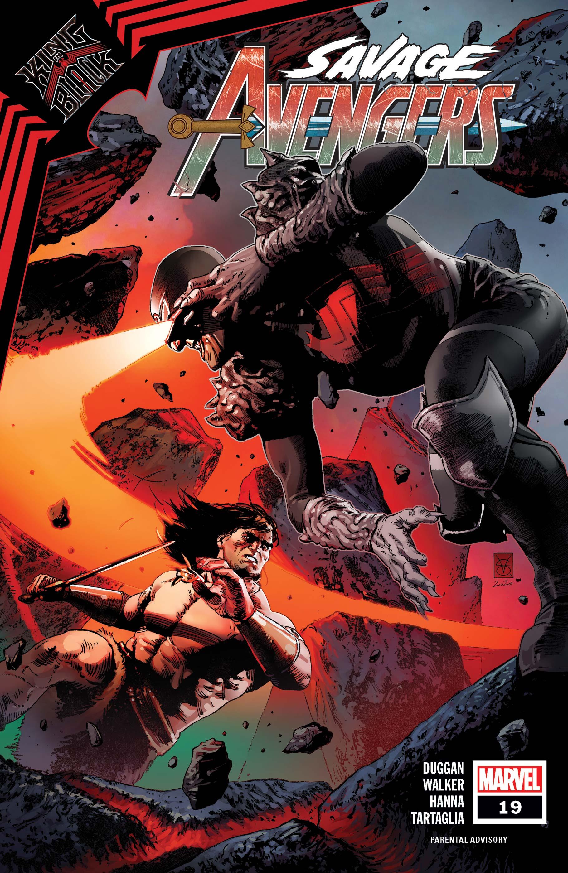 Savage Avengers (2019) #19