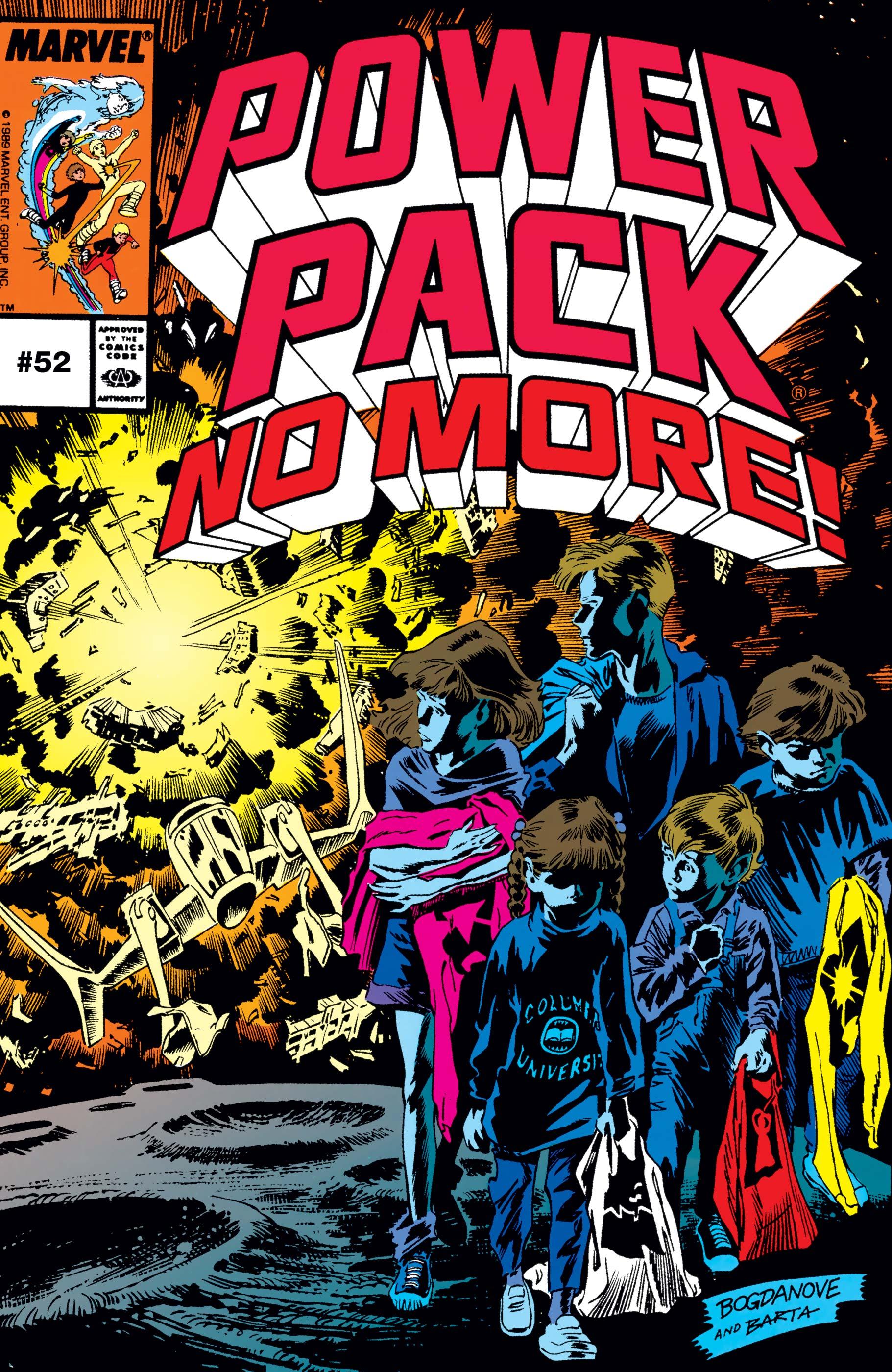 Power Pack (1984) #52