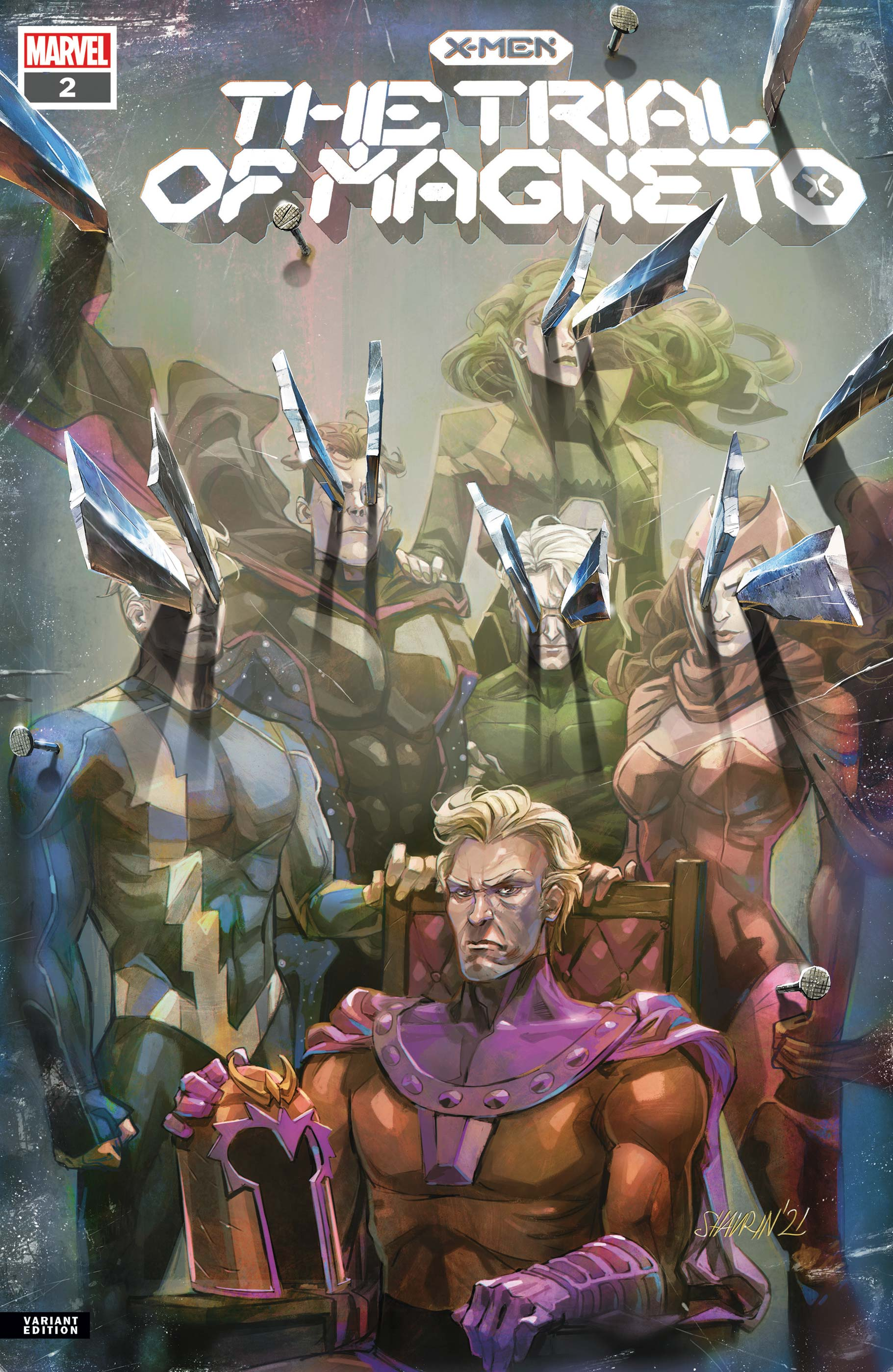 X-Men: The Trial of Magneto (2021) #2 (Variant)