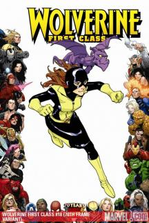 Wolverine First Class (2009) #18 (70TH FRAME VARIANT)