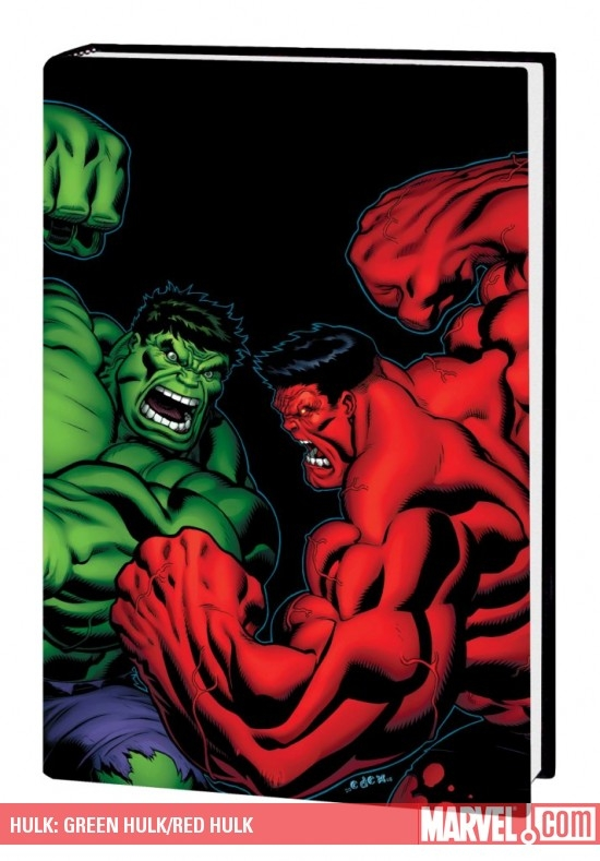 Hulk: Green Hulk/Red Hulk (Hardcover)