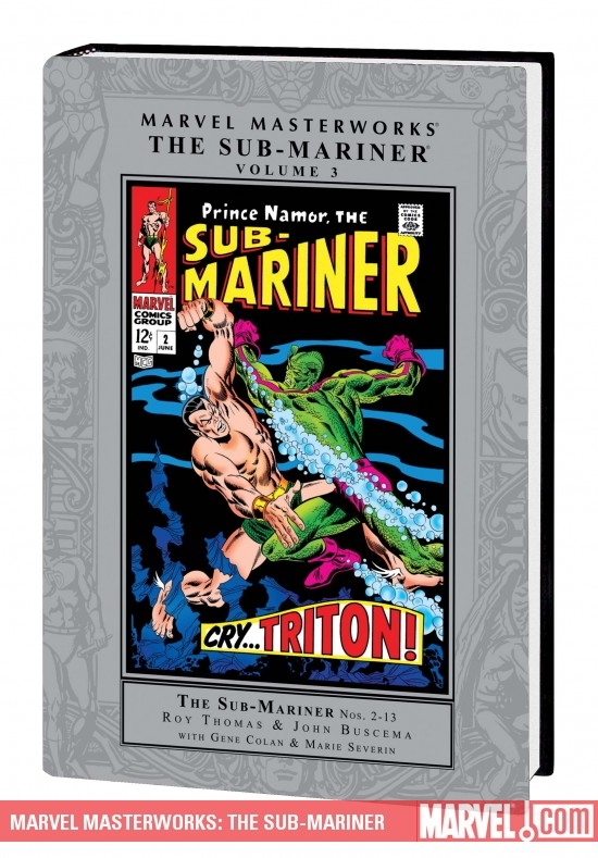 Marvel Masterworks: The Sub-Mariner Vol. 3 (Hardcover)