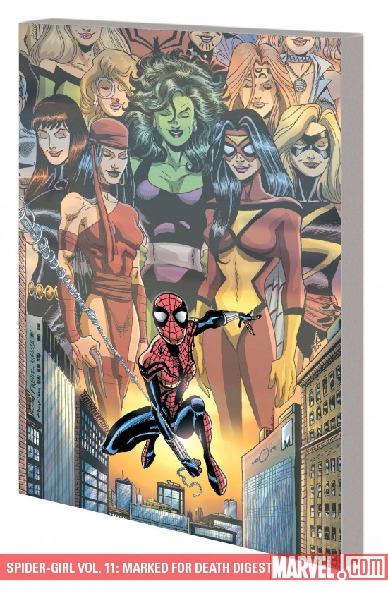 Spider-Girl Vol. 11: Marked for Death Digest (Digest)