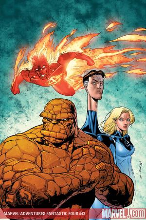 Marvel Adventures Fantastic Four #43