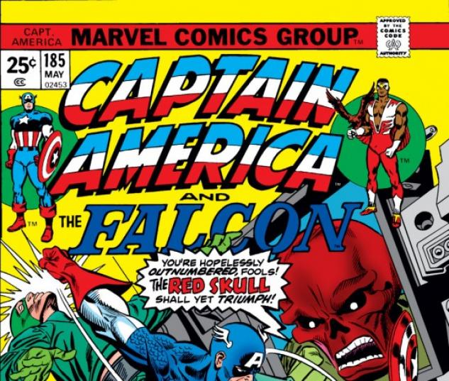 CAPTAIN AMERICA #185 COVER