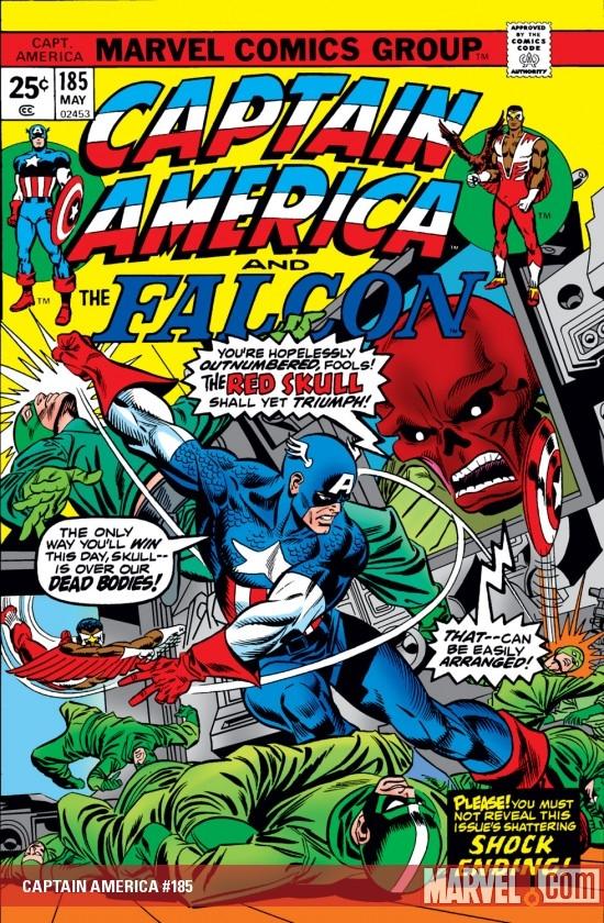 Captain America (1968) #185