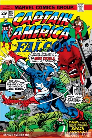 Captain America #185