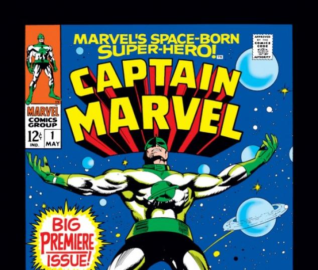 captain marvel 1 1968