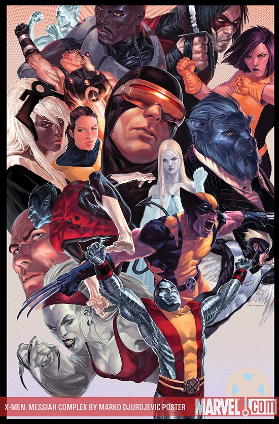 X-Men: Messiah Complex by Marko Djurdjevic (2007)