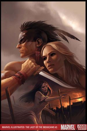 Marvel Illustrated: Last of the Mohicans #3