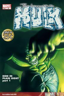 Incredible Hulk Vol. 5:Hide in Plain Sight (Trade Paperback)