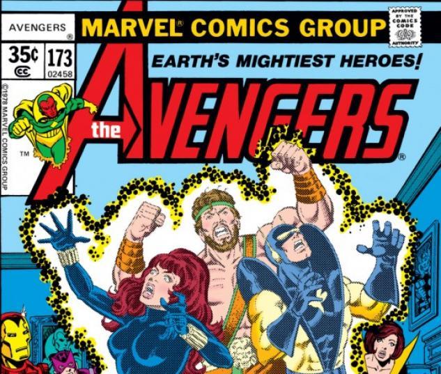 AVENGERS #173 COVER
